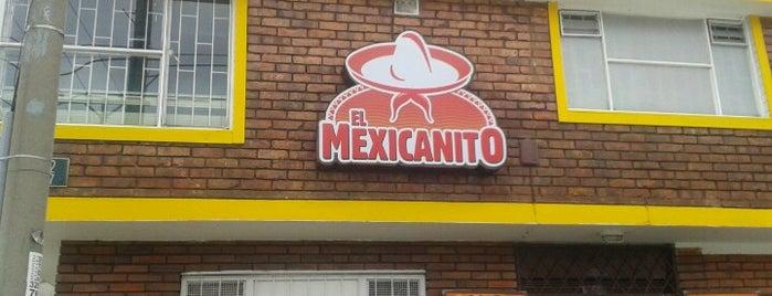 El Mexicanito is one of Restaurantes Mexicanos!!!.