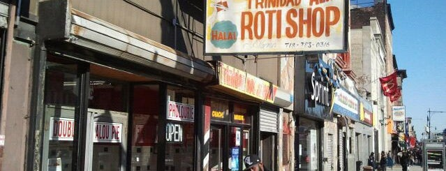 Ali's T & T Roti is one of Eat.