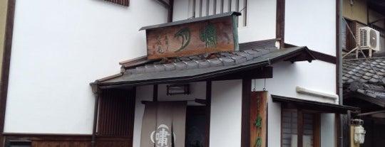 御菓子司 嘯月 is one of 和菓子/京都 - Japanese-style confectionery shop in Kyo.