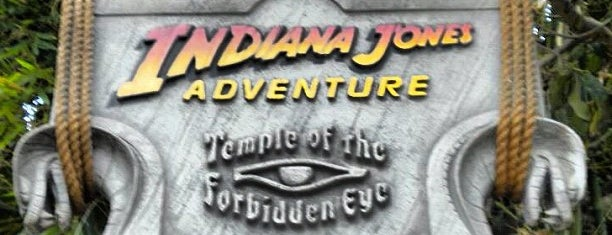 Indiana Jones Adventure is one of Dan's Places.
