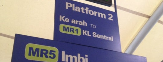 RapidKL Imbi (MR5) Monorail Station is one of Monorail.