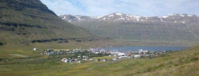 Seyðisfjörður is one of Two Weeks in Iceland.
