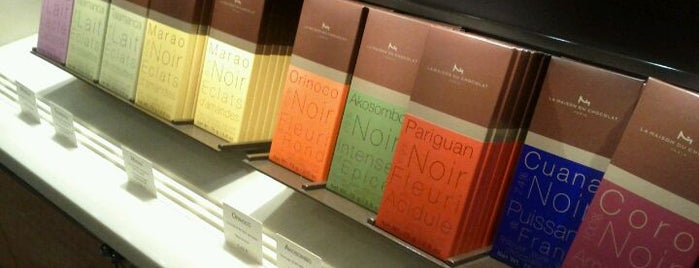 La Maison du Chocolat is one of Paris' Finest Chocolate Shops.