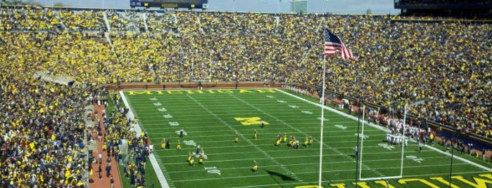 Michigan Stadium is one of B1G Stadiums.