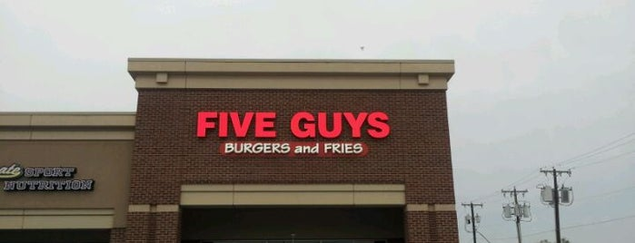 Five Guys is one of 2011 DFW Burger Battle.