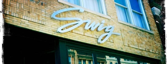 Swig is one of Milwaukee Area To-Do's.