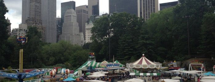 Victorian Gardens Amusement Park is one of Best Spots for Kids - NYC.