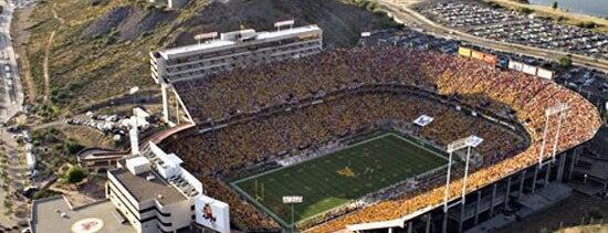 Sun Devil Stadium is one of Pac-12 Football.