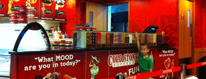 Cold Stone Creamery is one of Favorite Food.