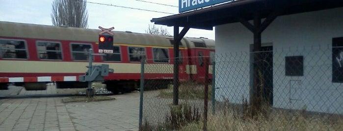 Hradec Králové zastávka is one of Železniční stanice ČR: H (3/14).