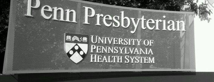 Penn Presbyterian Medical Center is one of Area Hospitals.