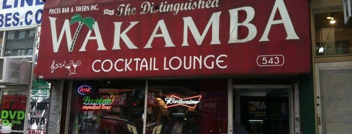 The Distinguished Wakamba Cocktail Lounge is one of 50 Best Dive Bars.