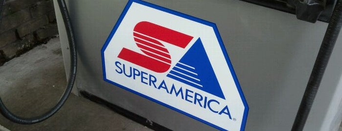 Super America is one of Services.