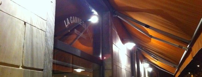 La Canne en Ville is one of Bruxelles Restos & Café etc.