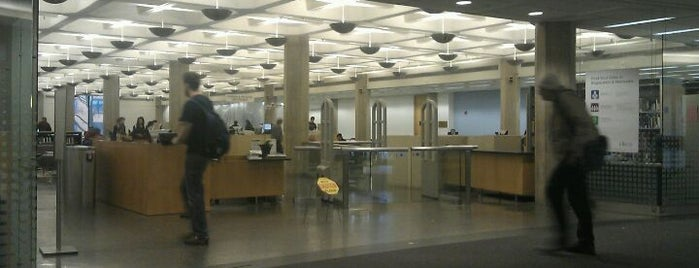 The Joseph Regenstein Library is one of Chicago Favorites.