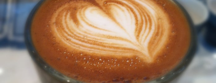 Toby's Estate Coffee is one of @EaterNY: Where to Drink Coffee in NYC Right Now.