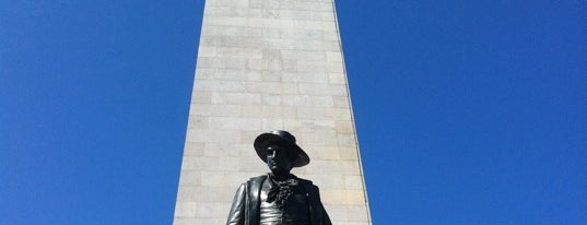 Bunker Hill Monument is one of Paranormal Traveler.
