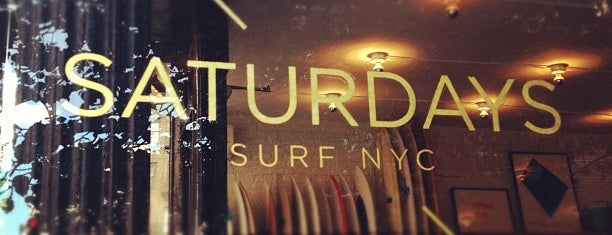 Saturdays Surf NYC is one of Notable Coffee Shops (NYC).