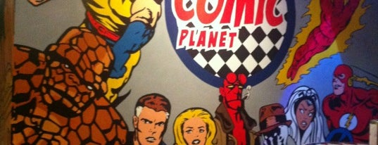 Comic Planet is one of Donde comer en cordoba.