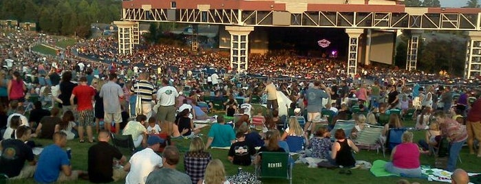 Coastal Credit Union Music Park is one of Welcome to Raleighwood! #visitUS.