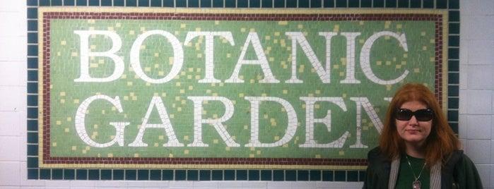 MTA Subway - Botanic Garden (S) is one of Subway Stations.