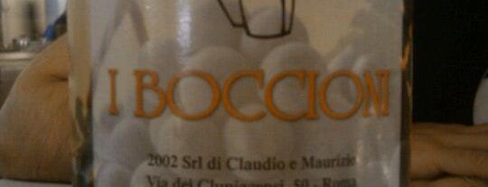 I Boccioni is one of ristoranti Roma.