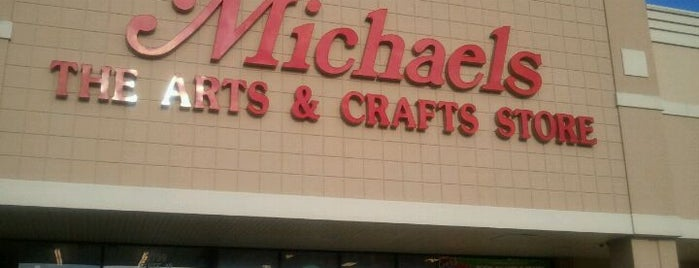 Michaels is one of Places I have been to.