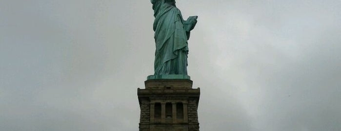 Statue of Liberty is one of If You're A Tourist in NYC....