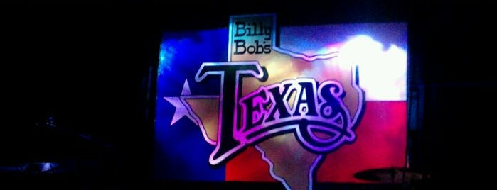 Billy Bob's Texas is one of Favorite Bars.