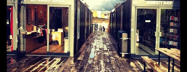 BOXPARK Shoreditch is one of Shoreditch.