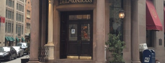 Delmonico's is one of NY Region Old-Timey Bars, Cafes, and Restaurants.