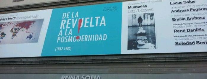 Museo Nacional Centro de Arte Reina Sofía (MNCARS) is one of Madrid.