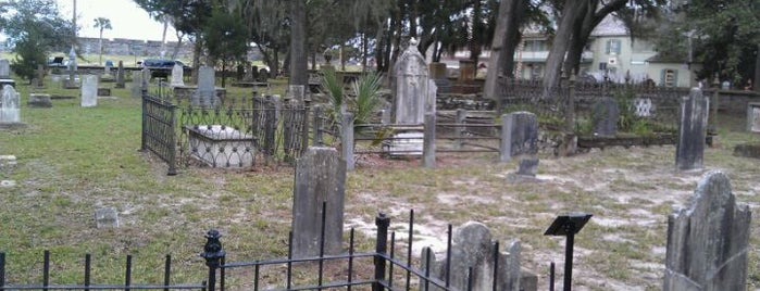 Old Huguenot Cemetery is one of St. Augustine Tourist Spots to See.