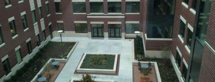 Sage Academic Hall is one of UW Oshkosh Admissions Tour.