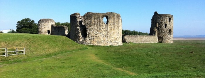 Flint Castle is one of Historic Castles of North Wales.