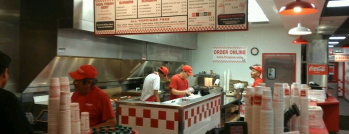 Five Guys is one of The 15 Best Places for French Fries in San Antonio.