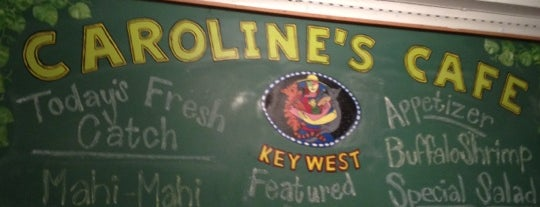 Caroline's Cafe is one of The 15 Best Places for People Watching in Key West.