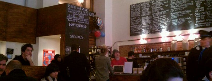 Birch Coffee is one of GW/NY Cafe Spots.