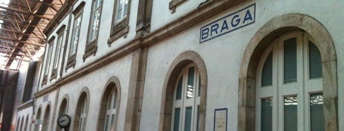 Estação Ferroviária de Braga is one of braga.