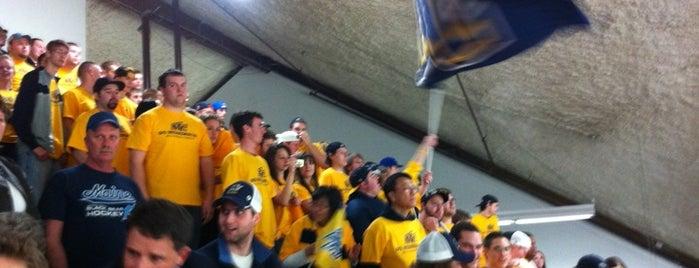 Alfond Arena is one of 2012-13 Merrimack College Hockey Road Trips.