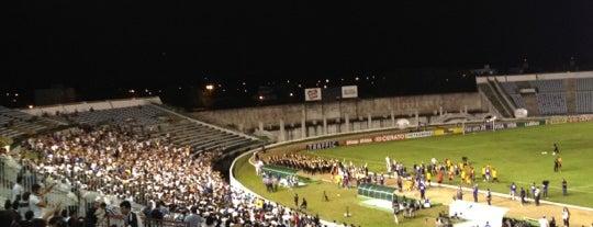 Estádio José Américo de Almeida Filho (Almeidão) is one of João Pessoa #4sqCities.