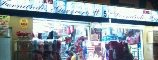Super Fernando Guerrero 5 is one of Tiendas en General.