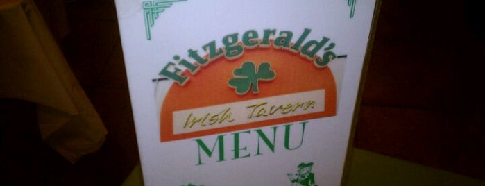 Fitzgerald's is one of Restaurants.