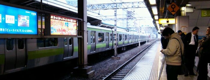 Akihabara Station is one of 山手線.