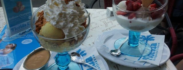 Florida Eiscafé is one of It's always time for ice cream!.