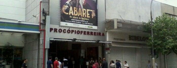 Teatro Procópio Ferreira is one of Lugares que frequento.