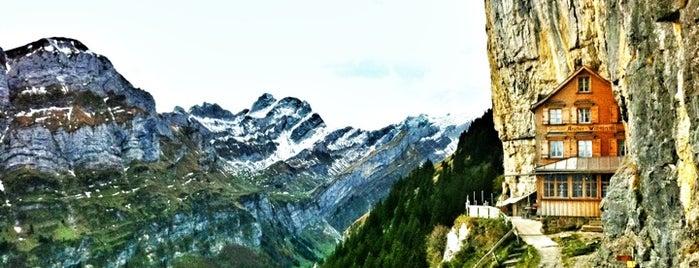 Berggasthaus Aescher is one of What to do in Switzerland.
