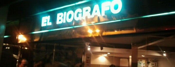 El Biógrafo is one of Movie Theater.
