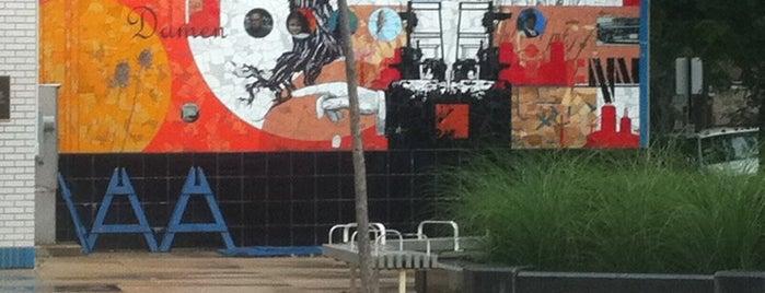 Vida Simple Mural By Juan Angel Chávez is one of The Windy City Badge.