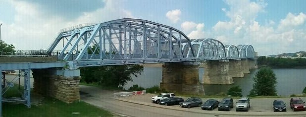 Purple People Bridge is one of Surviving Historic Buildings in Cincinnati.